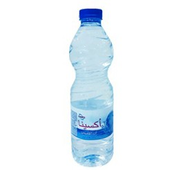 آب معدنی اکسینا حجم 0.5 لیتر